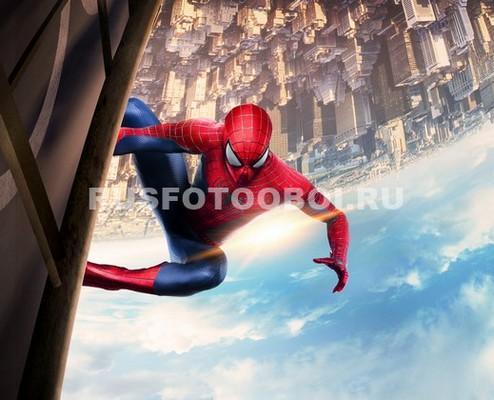 Фотообои Человек-паук над городом