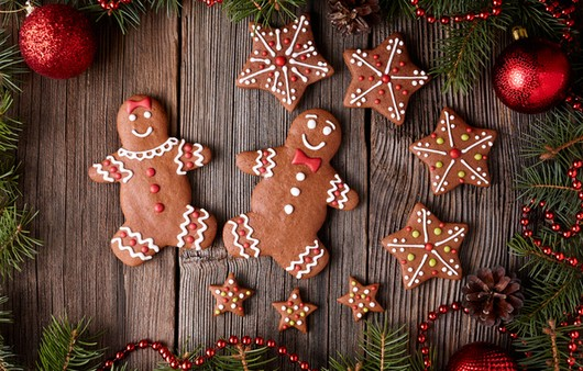 новогодние печенки