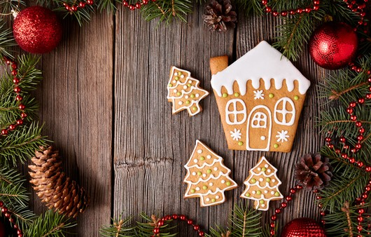 дом печенье