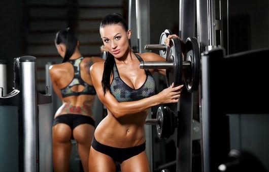 спорт девушка