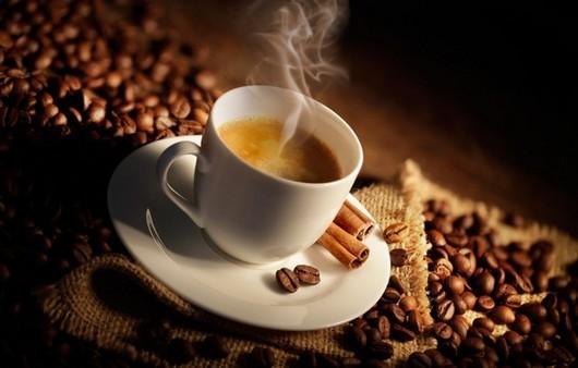 кофе с паром