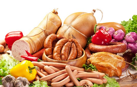 Фотообои мясные продукты