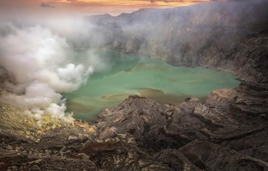 центр вулкана