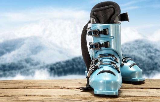 Фотообои зимняя обувь