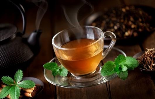Фотообои чай в кружке