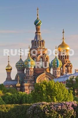 Санкт-Петербург на закате