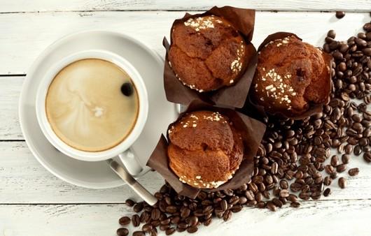 кексы с кофе