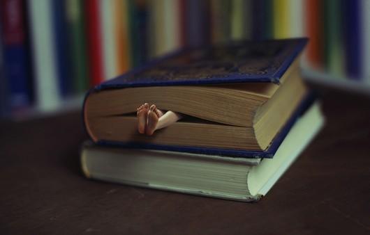 книга с ногами