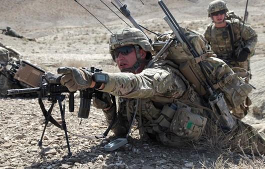 Солдаты ВС США