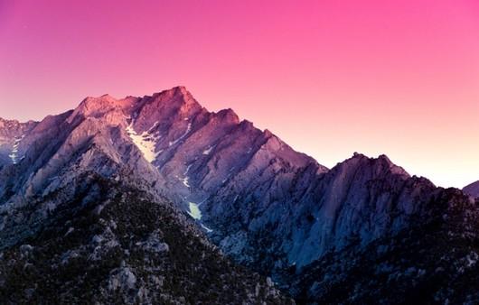 Фотообои Снег в горах
