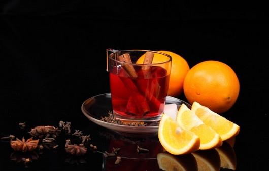 Фотообои чай с лимоном