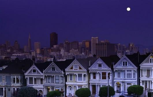 San Francisco вечером