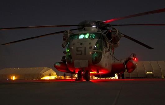 Авиация США CH-53D