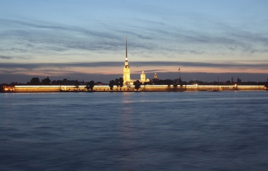 Петропавловская крепость на Неве