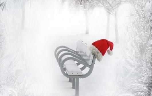 рождество зимой