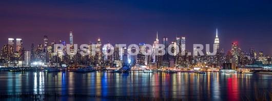 Фотообои Ночь в городе