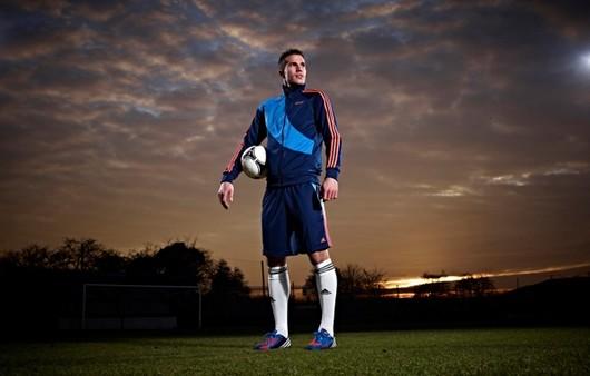 футболист на поле