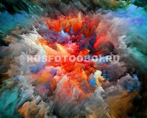 Фотообои Взрыв