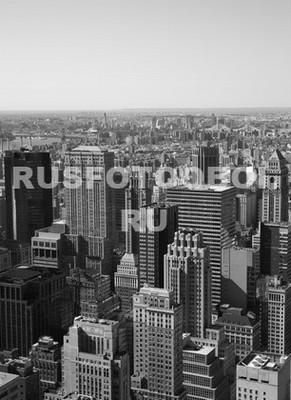 Небоскребы черно белое фото