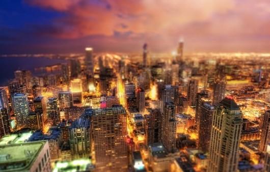 Фотообои Чикаго в США