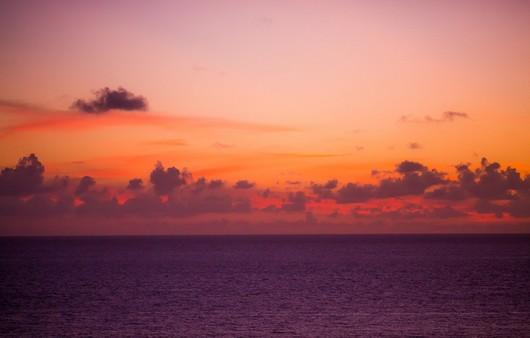 горизонт на закате