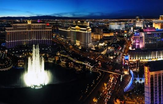 вечерний Лас-Вегас