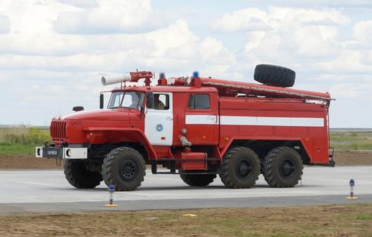 пожарная машина Урал-4320
