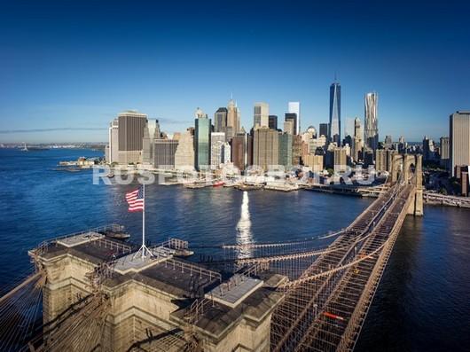 Верхушка Бруклинского моста
