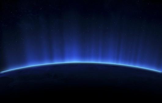 вид в космос