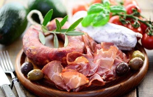 Фотообои мясное блюдо