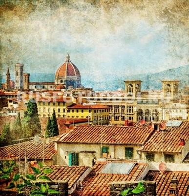 Фотообои Флоренция фреска