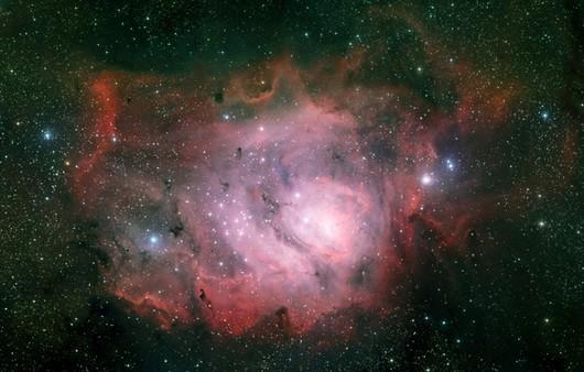 созвездие Стрельца в космосе