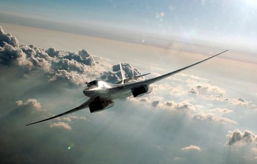 Фотообои бомбардировщик Ту-160