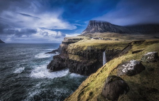 пейзаж Faroe Islands