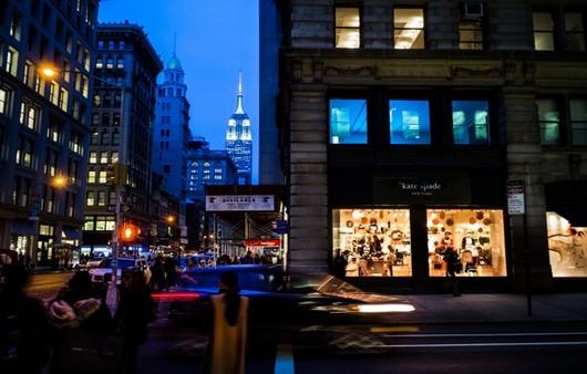 New York City ночью