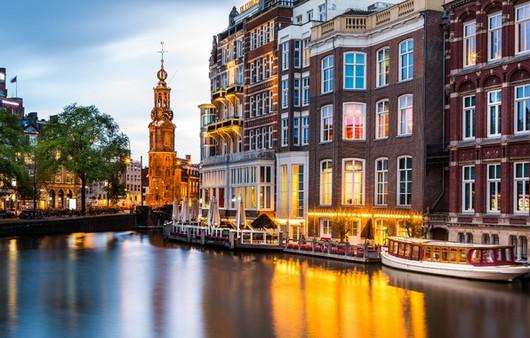 Фотообои Амстердам днем