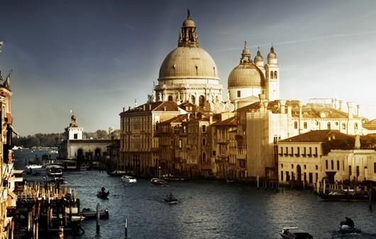 прогулки на лодках в Венеции