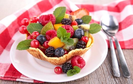 ягодный завтрак