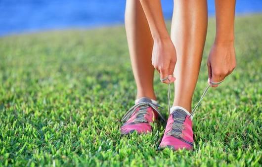 пробежка по траве