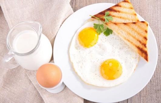 Фотообои блинчики с яйцом