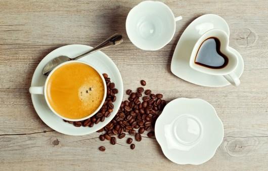 Фотообои чашка сердечко