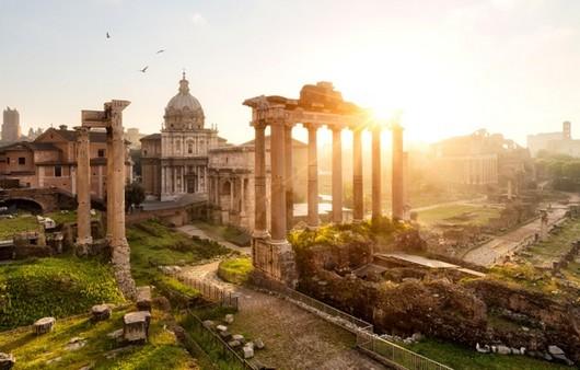 солнце в Риме