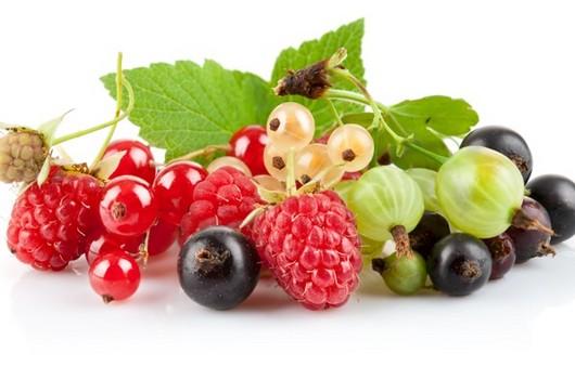 разноцветные ягодки