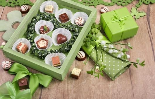 Фотообои коробка конфет