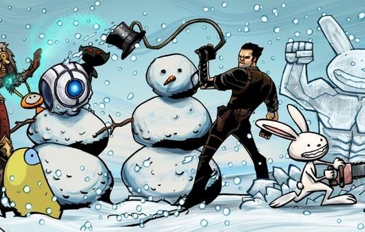 каратель снеговиков