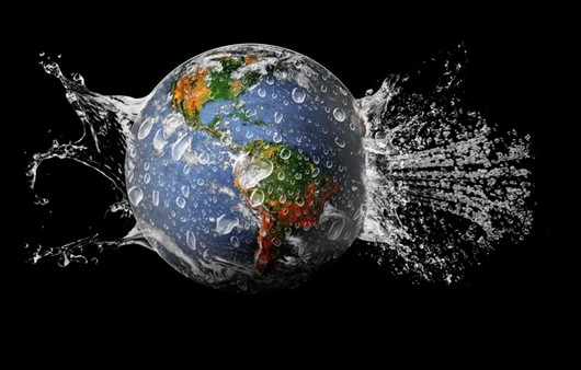 Фотообои планета вода