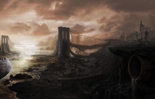 Фотообои фантастический мост