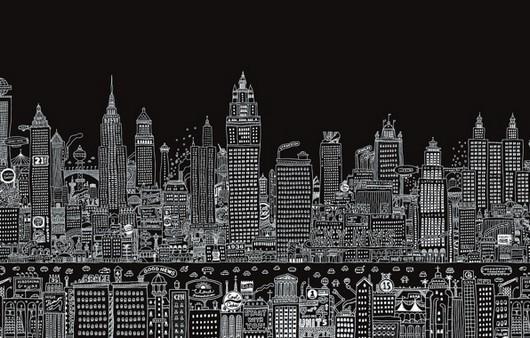 большой мегаполис