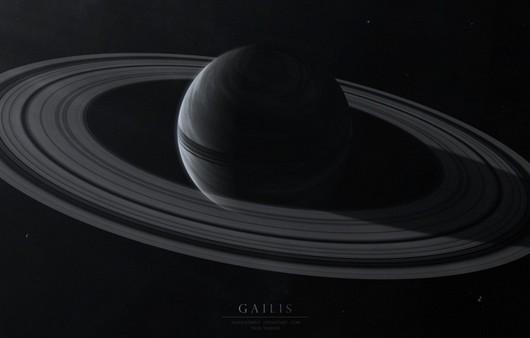Фотообои планета с кольцами