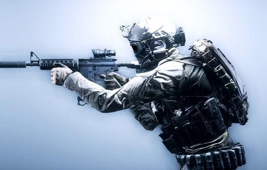 Фотообои солдат пехоты